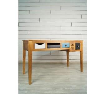 """Письменный стол """"Aquarelle Birch"""" 2 Этажерка"""